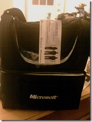 Microsoft Lunch box